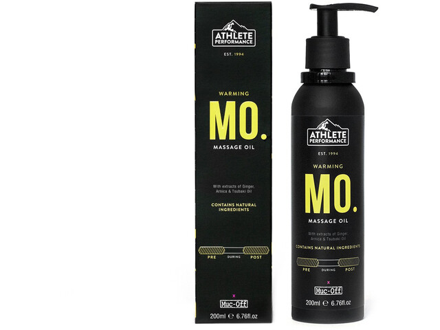 Muc-Off Massage Oil 200ml, pink